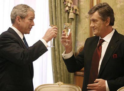 bush wine toast