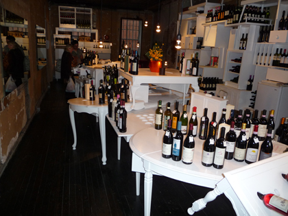 wineshop interior