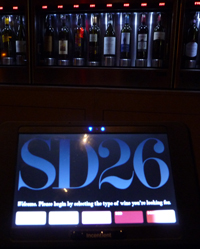 SD26 winelist