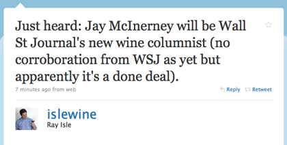 jay mcinerney wine