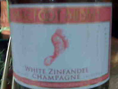 white zin champagne