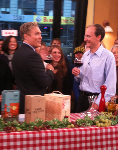 sam champion gma vino