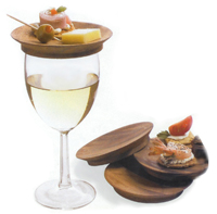 wine glass appetizer