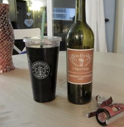 wine starbucks