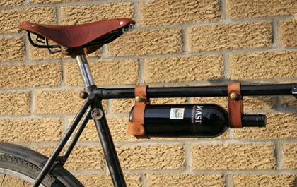 bicycle wine tote