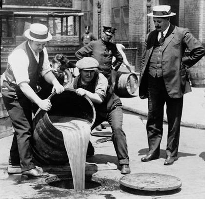 Prohibition Disposal