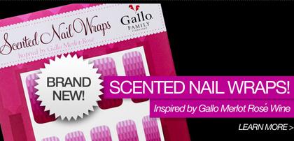 gallo rose nail wraps