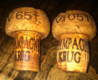 krug corks disgorgement