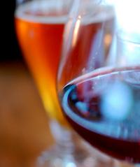 beer wine