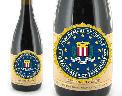 FBI wine