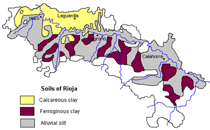 rioja soil map