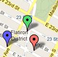 flatiron map