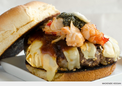 douche burger