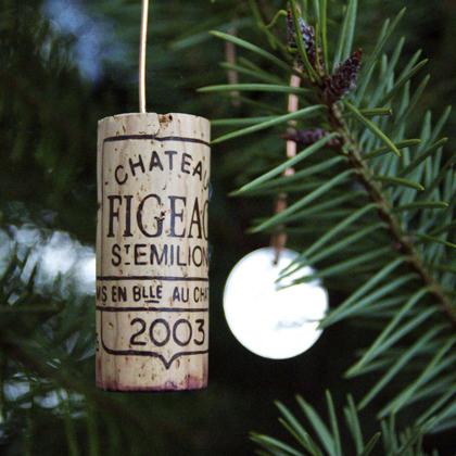 wine cork christmas