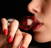 ring wine glass