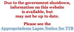 ttb shutdown