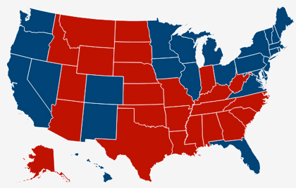 us election 2012 map