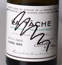 drc wine label