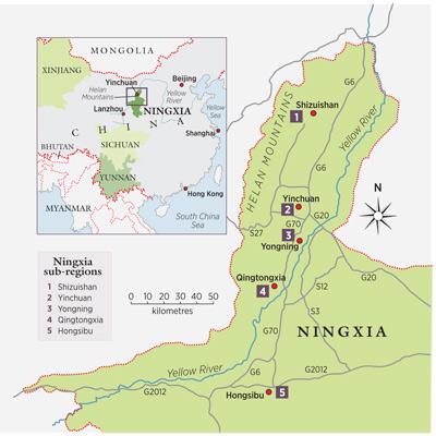 Ningxia_map