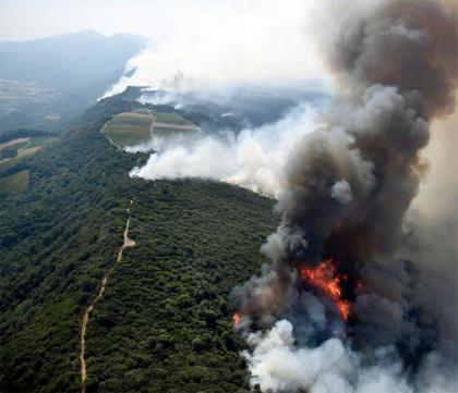 Fires savage Napa and Sonoma - Dr Vino's wine blog