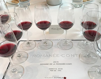 2017 wine auction market seen through the crystal...wine glass - Dr Vino's wine blog